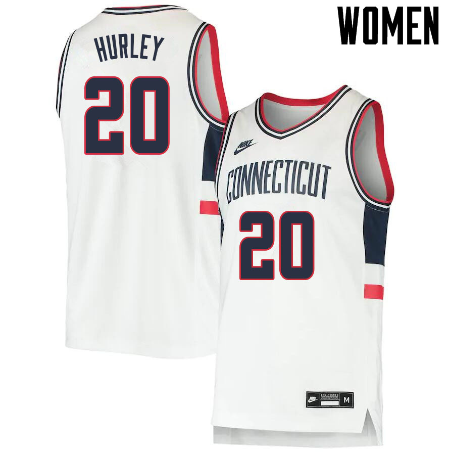 2021 Women #20 Andrew Hurley Uconn Huskies College Basketball Jerseys Sale-Throwback