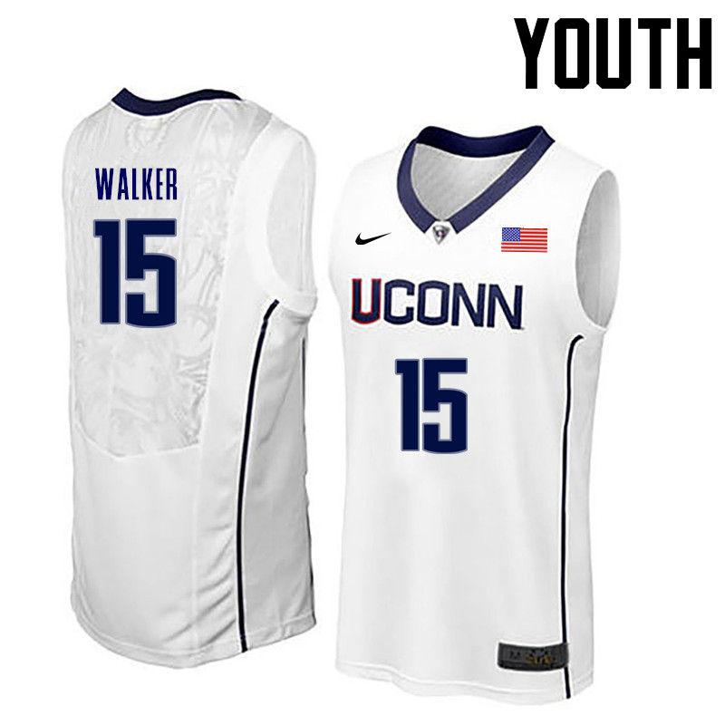 promo code 0c895 b30dd Kemba Walker Jerseys Connecticut Huskies College Basketball ...